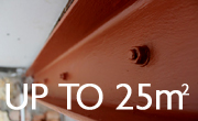 Up to 25m2 Steel Protection Pack
